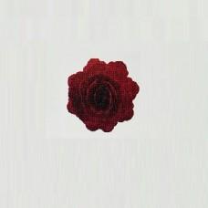 Vahvlikaunistus hiina roos keskmine, bordoo  18tk