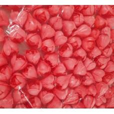 Vahvlikaunistus ROOS väike pung punane 100tk